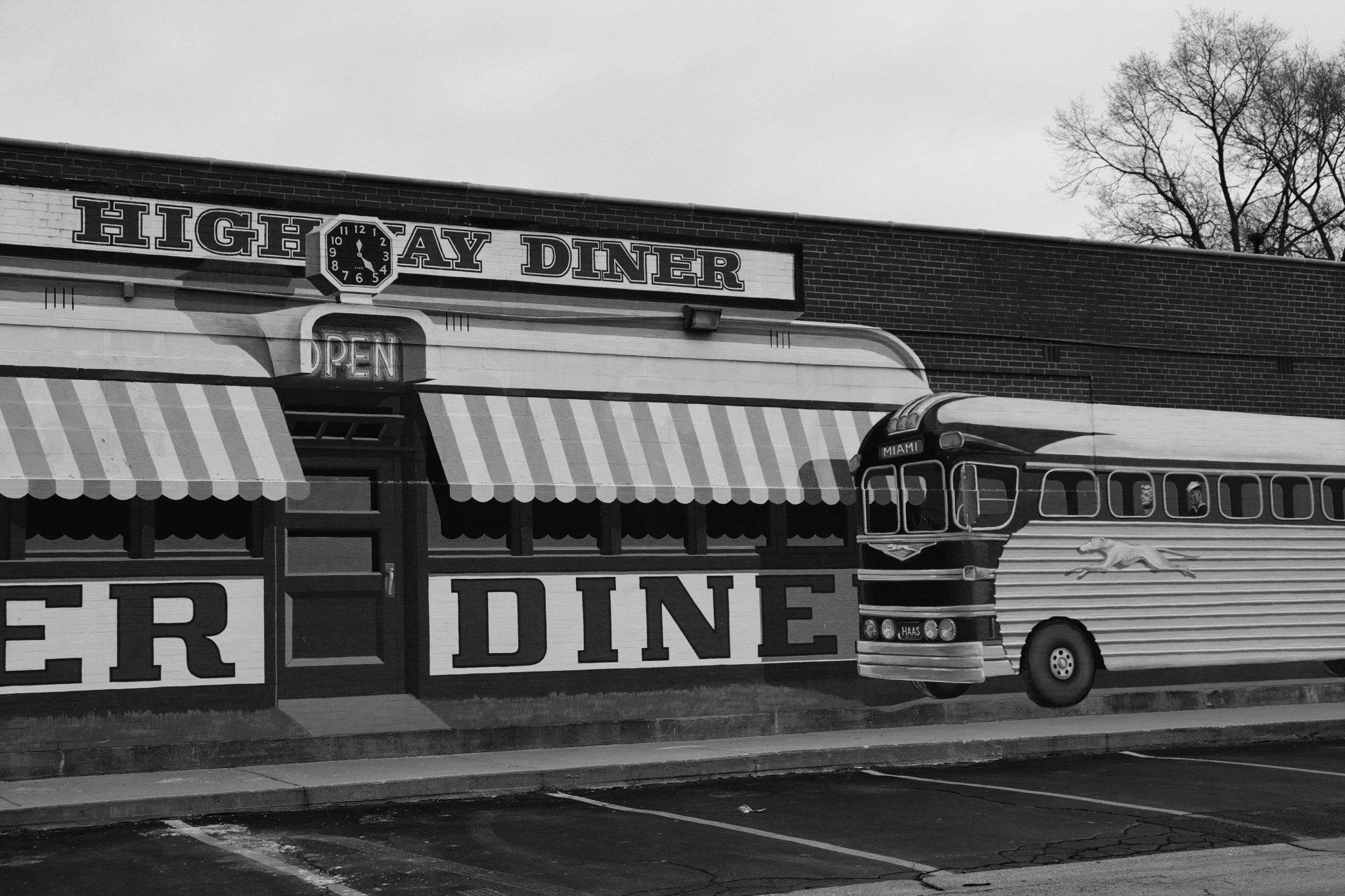 Diner Painting